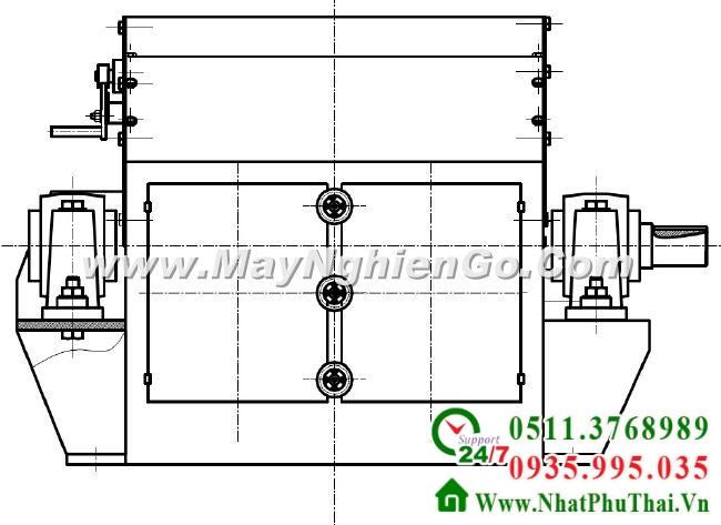 Tư vấn thiết kế chế tạo máy nghiền dăm gỗ thành mùn cưa - hình 02