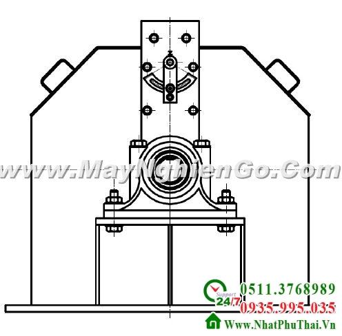 Tư vấn thiết kế chế tạo máy nghiền dăm gỗ thành mùn cưa - hình 03
