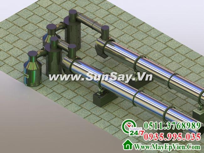 Tư vấn thiết kế chế tạo máy sấy mùn cưa - Hình 01