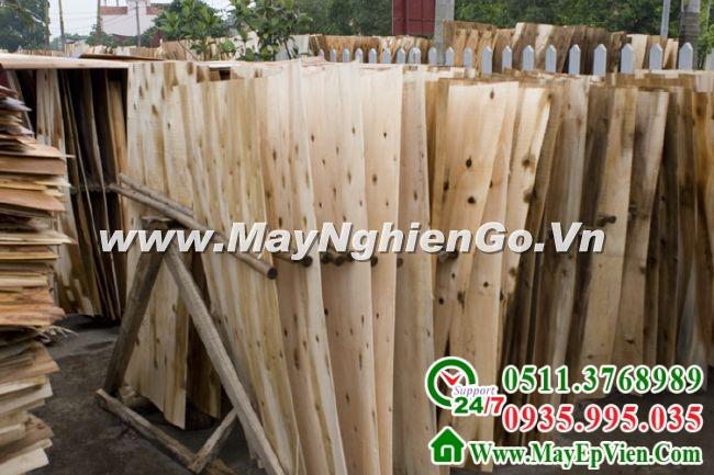 Máy nghiền dăm gỗ, ván lạng, ván mỏng, domino - Hình 03
